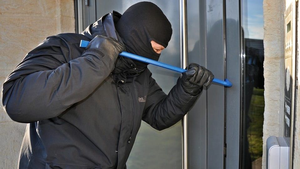 Home break-in prevention - Burglar