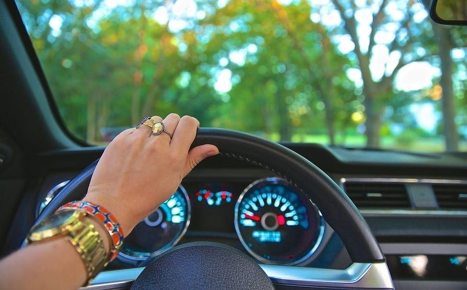 Louisiana car insurance - Driver - car - steering wheel
