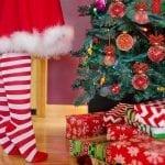 Kids Christmas safety - Christmas Tree - Presents