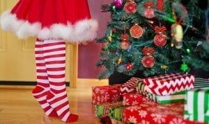 Kids Christmas safety - Christmas Tree - Presents