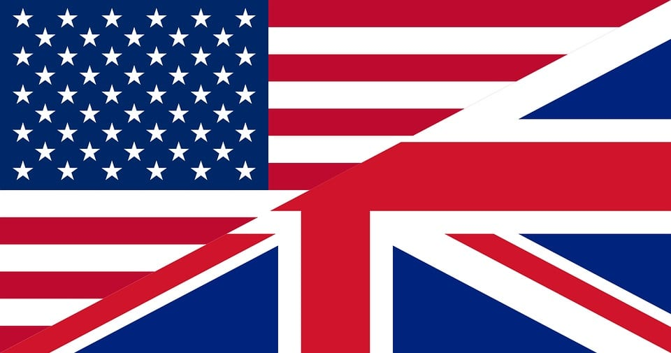 Post-Brexit Insurance - US Flag and UK Flag