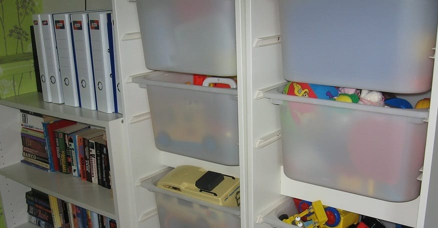 Benefits of Tidying Up - Toy Storage