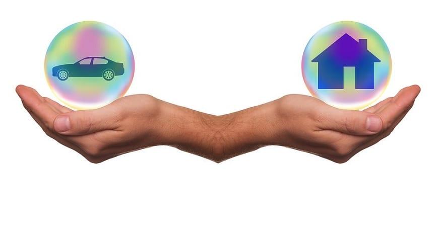 Insurance customer trends - auto insurance - home insurance - hands