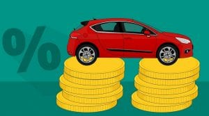 State Farm auto insruance rates - Car on coins