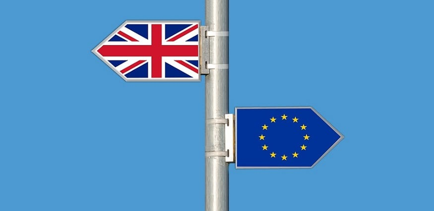 Berkshire Hathaway Insurance Group - Brexit - UK and EU flags