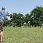 Disability insurance fraud - Frisbee throwing