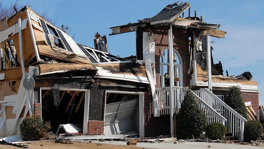 Impact of Climate Change - Damage House