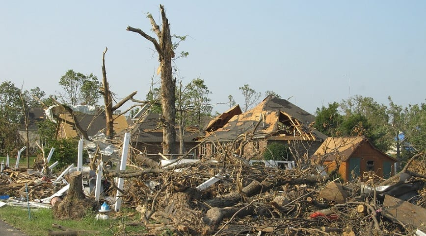 Texas storm preparedness - storm destruction - homes