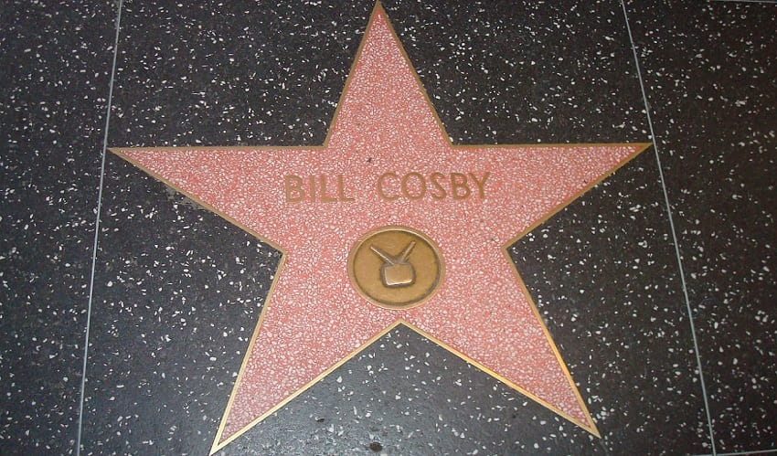 Bill Cosby's insurance company - Bill Cosby's Star on the Hollywood Walk of Fame