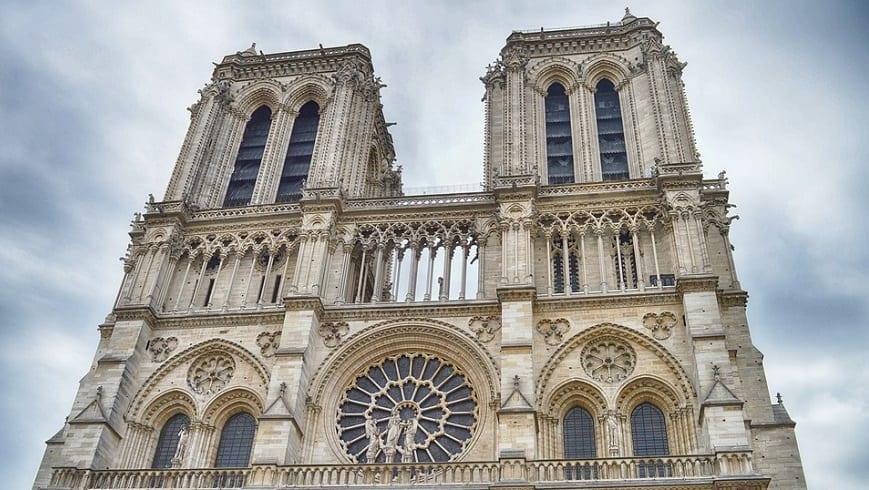 Insurance adjustor - Notre Dame Cathedral, France