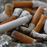 Reviti Life Insurance - Smoking - cigaretes, Ash tray