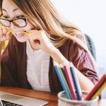 Education Insurance - Women on Laptop