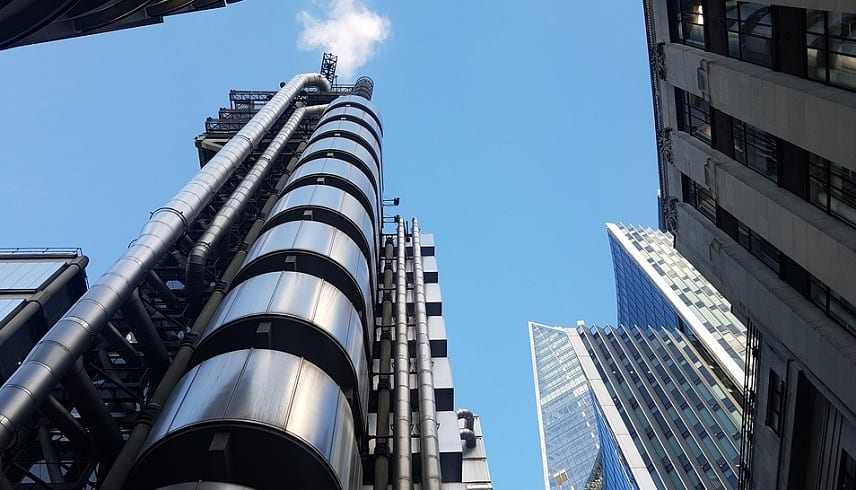 Lloyd's of London Automated Exchanges - Lloyd's building in London
