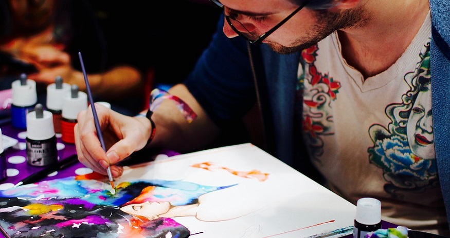 Convention Insurance - Artist at ComicCon