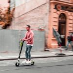 Scooter insurance - people riding electric scooters