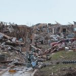 Tornado Insurance Claims - Disaster left after Tornado
