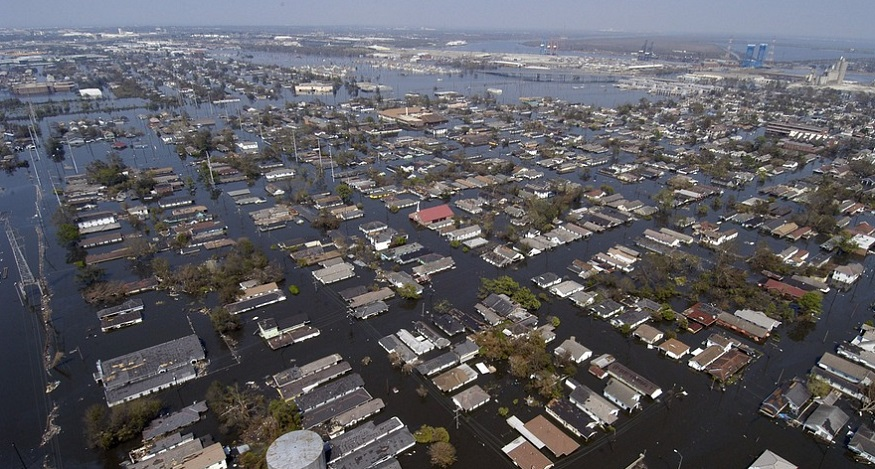 Bipartisan flood insurance bill - Hurricane Katrina New Orleans