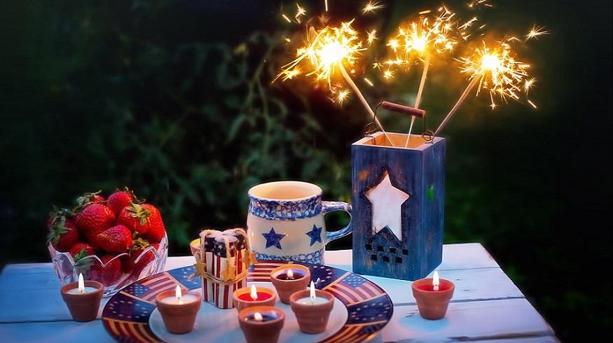 Firework damage - Fourth of July Celebration