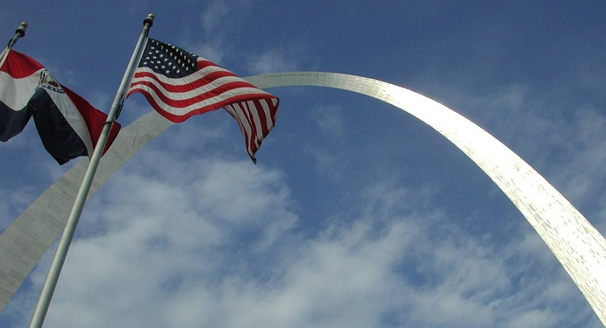 Missouri earthquake insurance - US Flag, Missouri Flag, Jefferson National