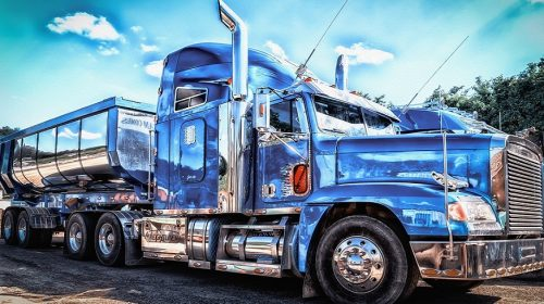 Trucking Proud Insurance Agency - Image of Truck