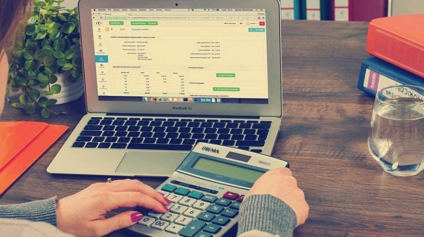 Bookkeepers Insurance - accounting - computer - calculator