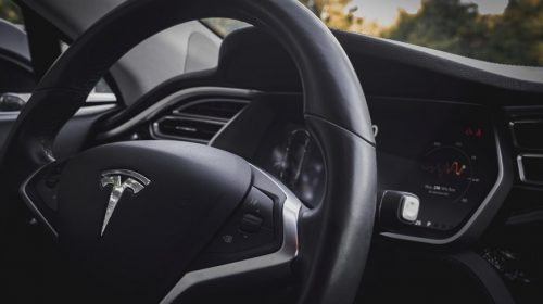 Tesla Insurance - Tesla Car - Steering wheel
