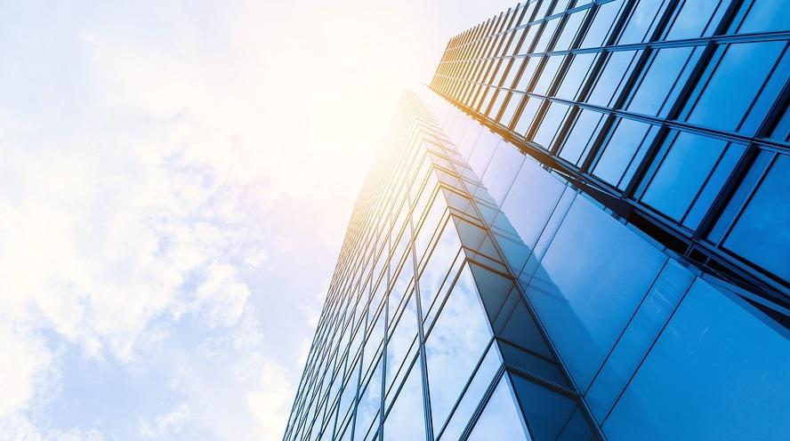 Ping An Insurance - Skyscraper sunshine