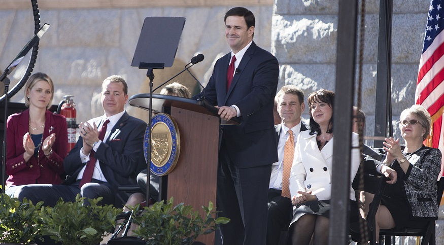Autonomous vehicle - Arizona Gov. Doug Ducey