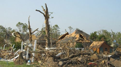Natural Disaster Damage - Tornado destruction
