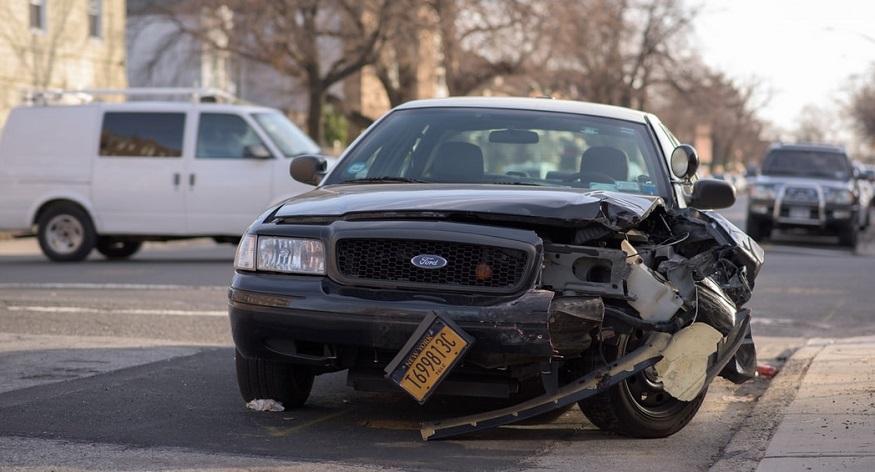 Car Insurance Fraud Ring - damaged car