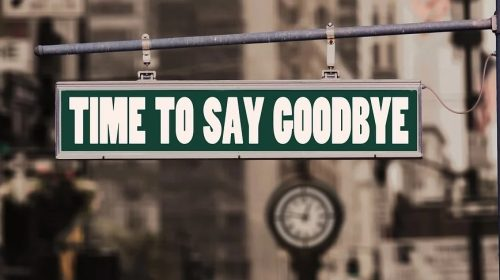Esurance Auto Insurance - goodbye sign