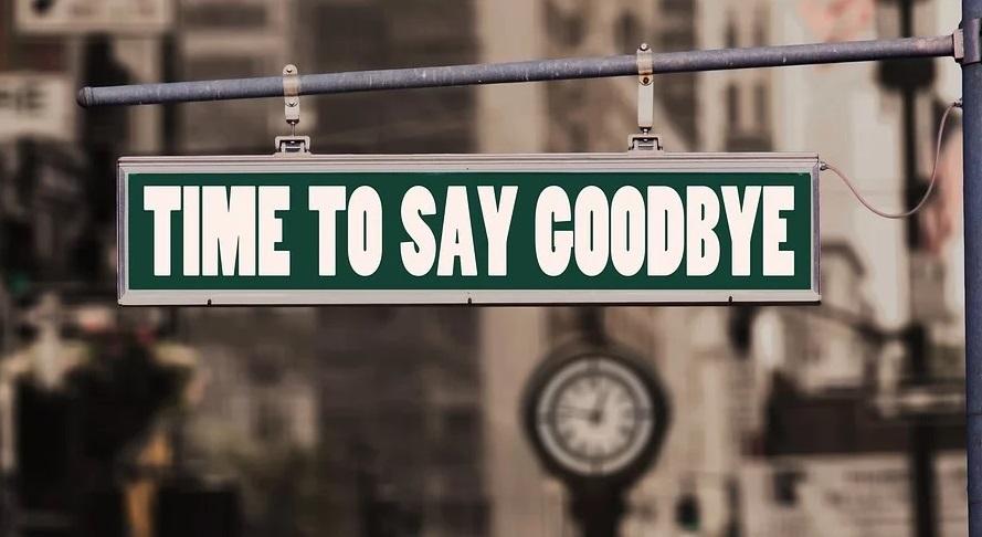 Esurance Auto Insurance - goodbye sign