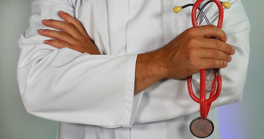 Small Business Health Plans - Doctor with stethoscope