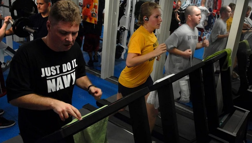 Wellness Programs - People Working out at gym