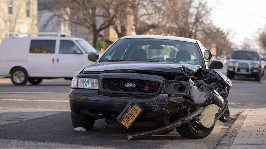 No-fault auto insurance system - car crash