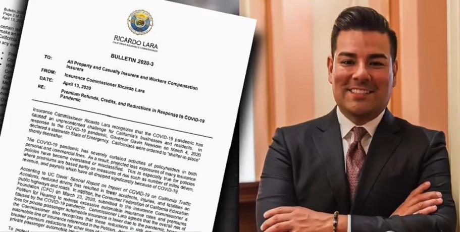 California insurance commissioner Ricardo Lara- ABC 10 News YouTube
