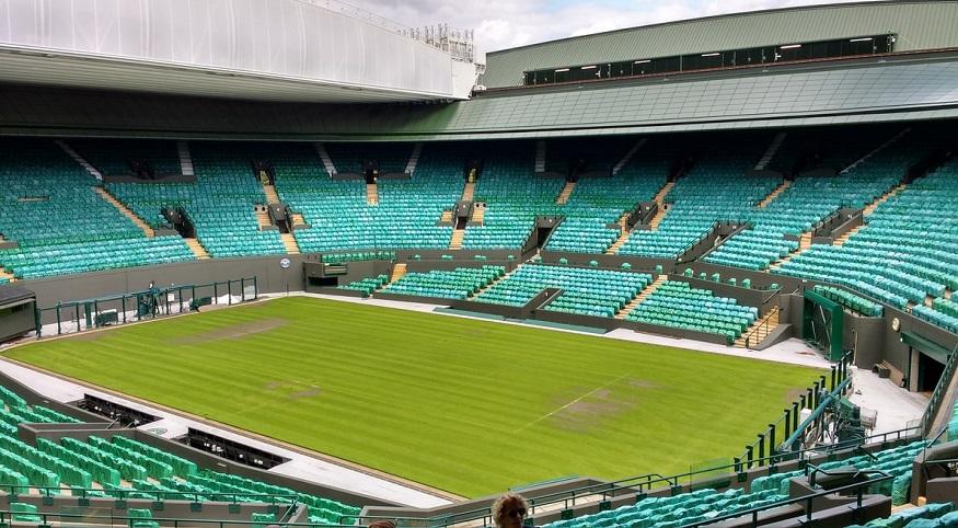 Pandemic insurance - Wimbledon - empty