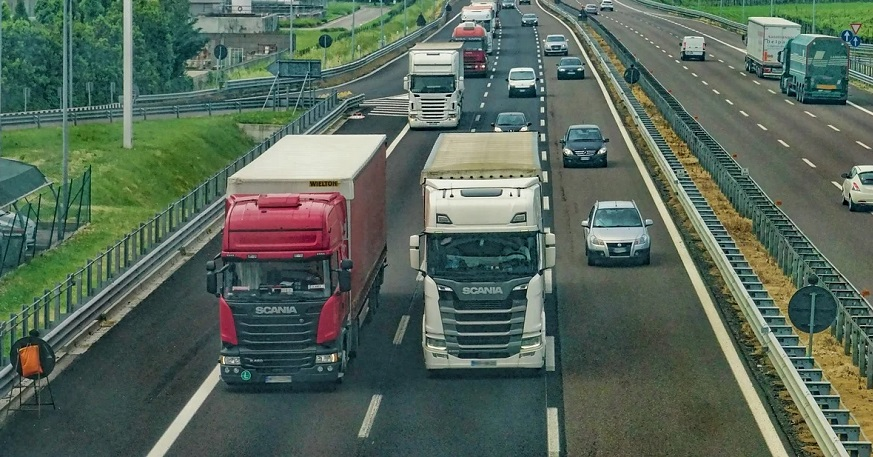 Truck insurance premiums - Trucks on road