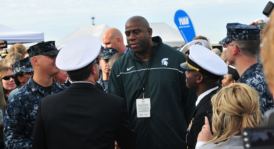 EquiTrust Life Insurance - Magic Johnson with the US Navy
