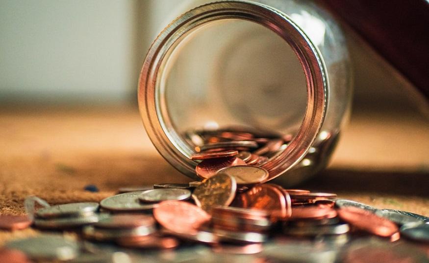 Auto insurance rate cut - Jar of pennies