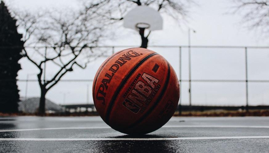 Houston Rockets - NBA basketball on court