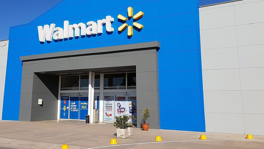 Walmart Insurance Services - Front of Walmart Store