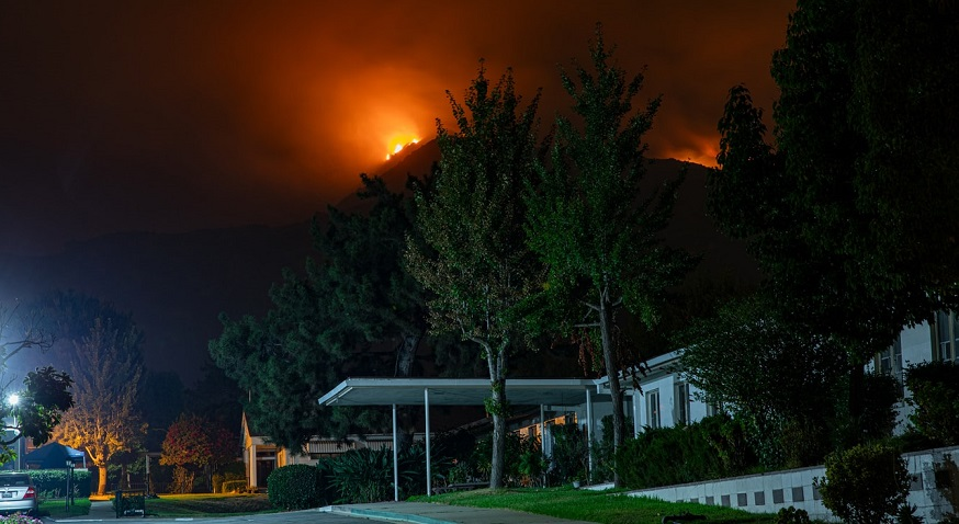 California state of emergency - Wildfire in California