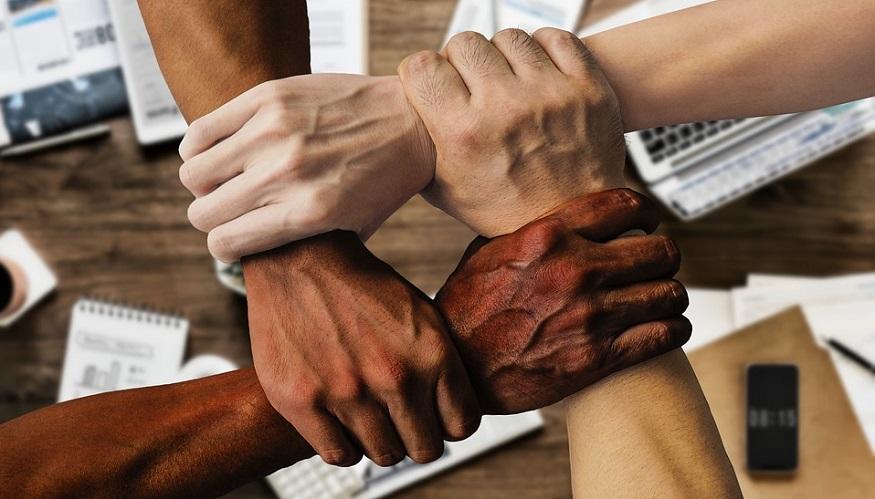 Insurance industry diversity - Hands - business