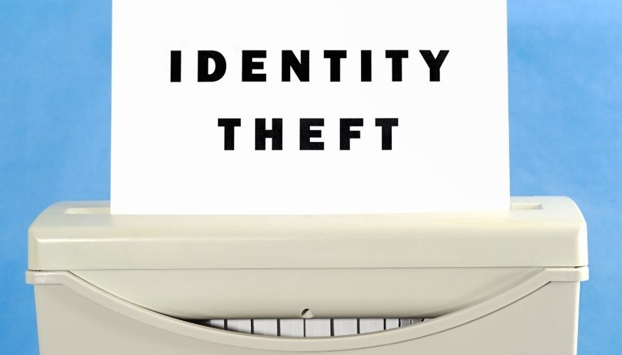 top things to do in the event of identity theft
