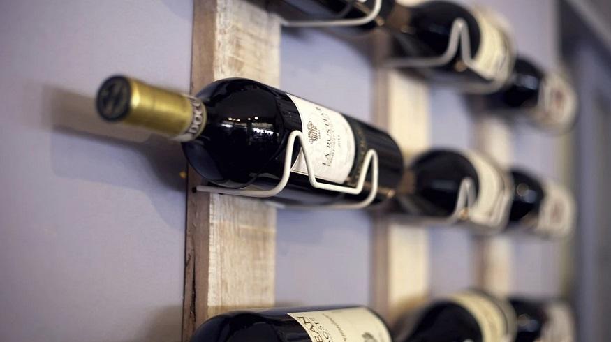 Wine insurance - wine rack