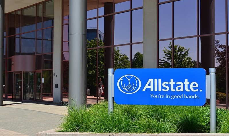Allstate Logo on Sign - Allstate Chief Sustainability Officer