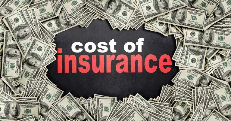 cost of life insurance for age