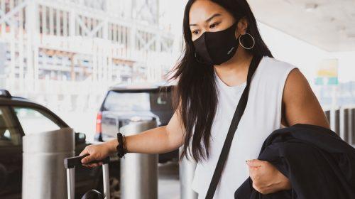 Trip cancellation insurance - woman traveler