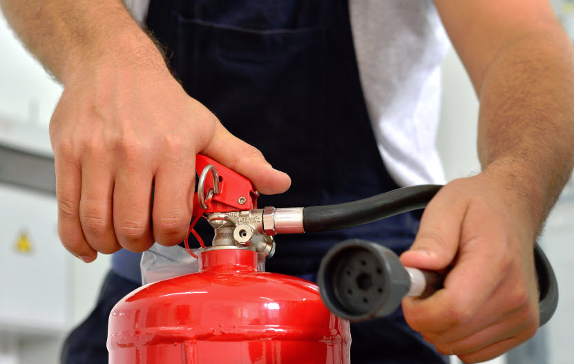 home fire extinguishers placement and first aid